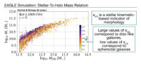 Paper time! The dependence of the galaxy stellar-to-halo mass relation on galaxy morphology